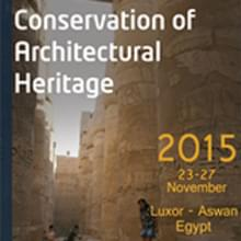 International Conference On: Conservation Of Architectural Heritage.