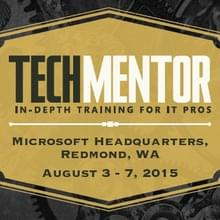 TechMentor Redmond
