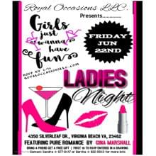 """Royal Occasions Presents.....""""Girls Just Wanna Have Fun"""""""