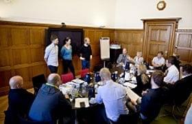 Kun for inviterede: Top 20 præsentere deres idéer for juryen image
