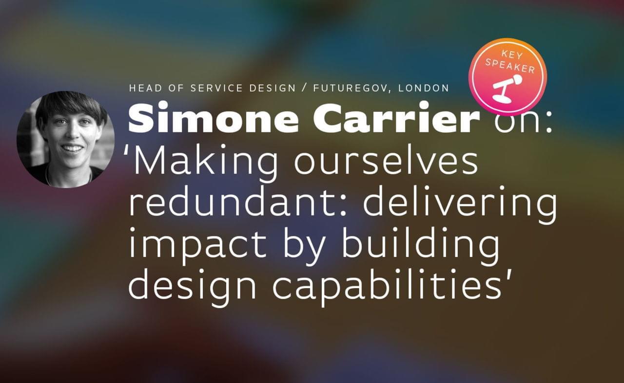 Key Talk 7: Simone Carrier (FutureGov) image