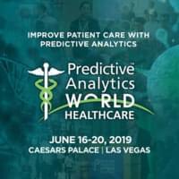 Predictive Analytics World for Healthcare - Las Vegas - June, 2019