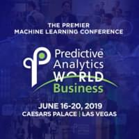 Predictive Analytics World for Business - Las Vegas - June, 2019