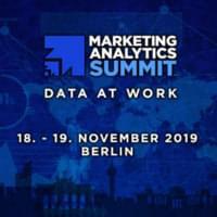 Marketing Analytics Summit Berlin 2019