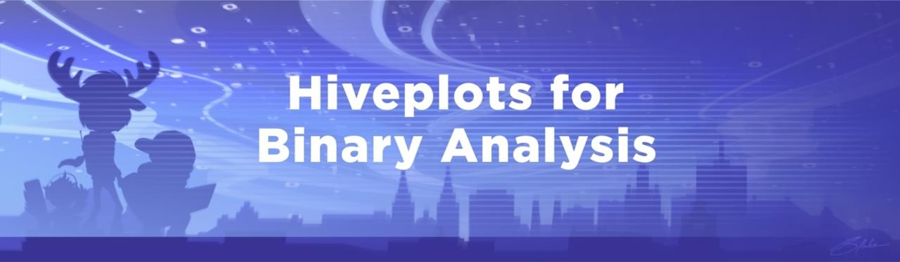 Hiveplots for Binary Analysis image